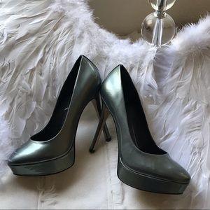 Nine West Patent Leather Platform Heels Size 6.5